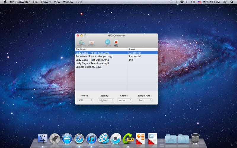 MP3 converter per mac
