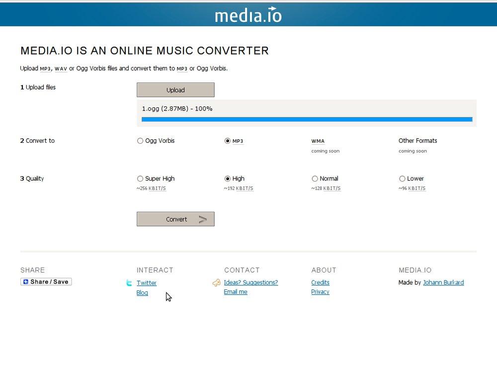 Media.io il converter per MP3 anche dal formato WAV