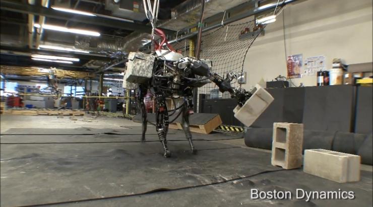 Mulo Robot blocchi cemento
