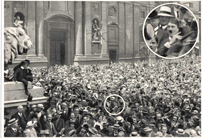 Odeonsplatz Hitler