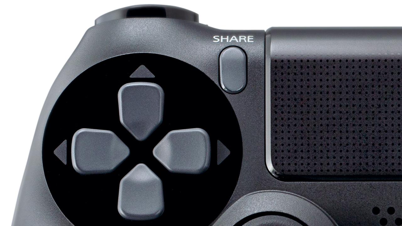 Pulsante Share sul DualShock 4