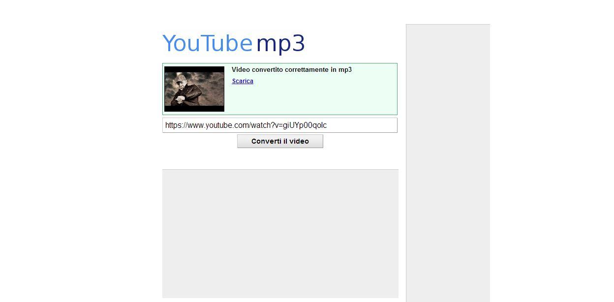 YouTubeMP3, il convertitore di musica da YouTube in formato MP3