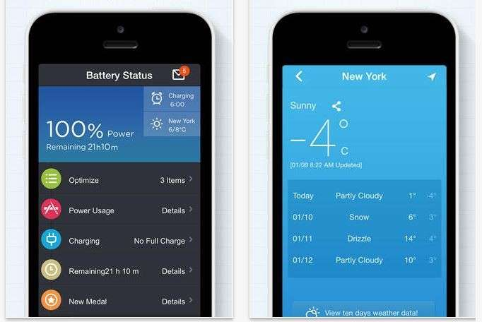 Le migliori App Batteria per iPhone, iPad, Windows Phone e Mac [FOTO]