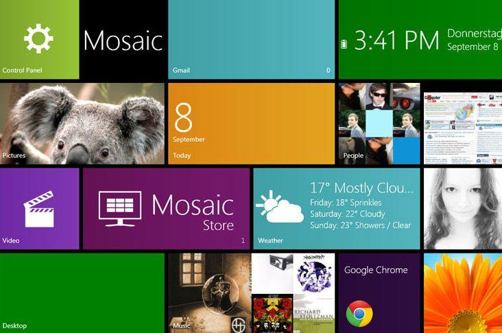 mosaic windows 8