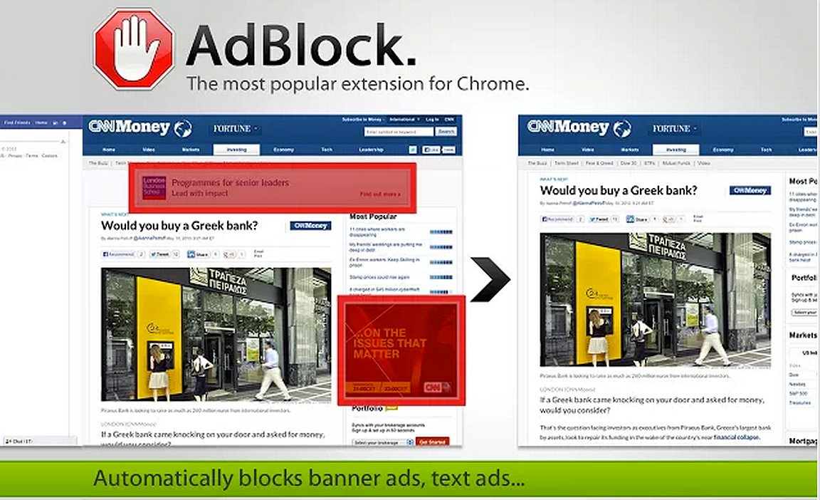 Adblock schermata download