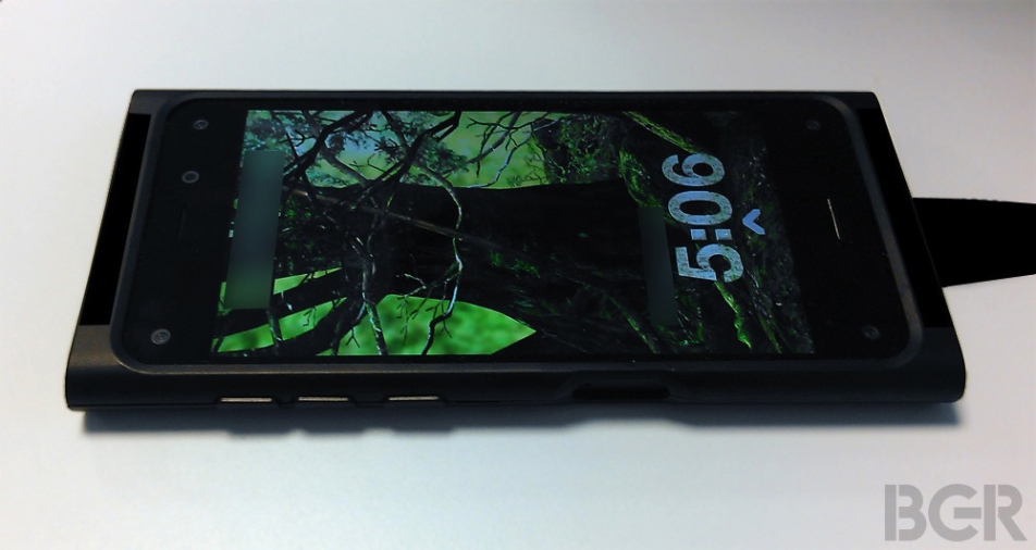 Amazon Smartphone foto rubata