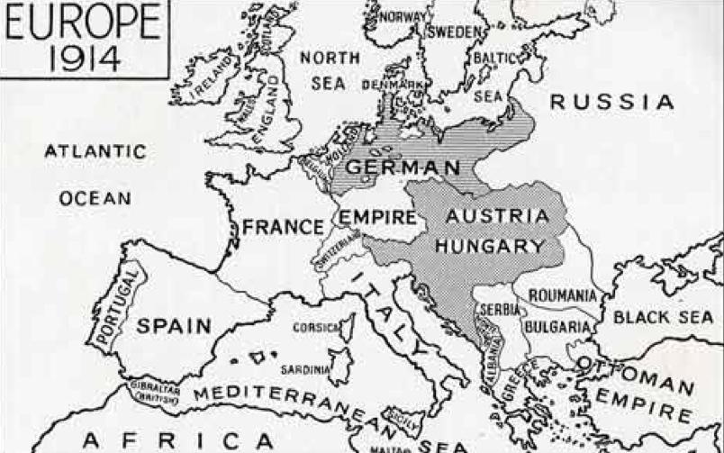 Europa 1914 Maturità 2014