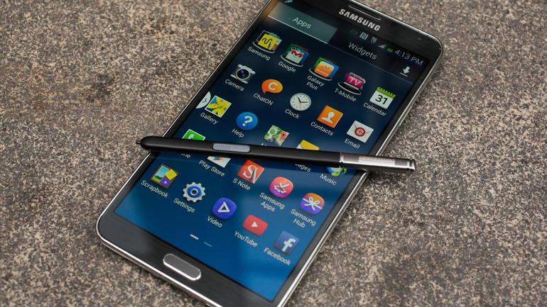 Galaxy Note 3 con pennino