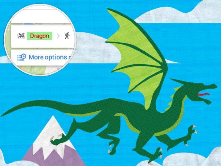Google Maps Drago