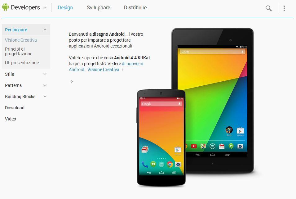 Guida sviluppo app Android