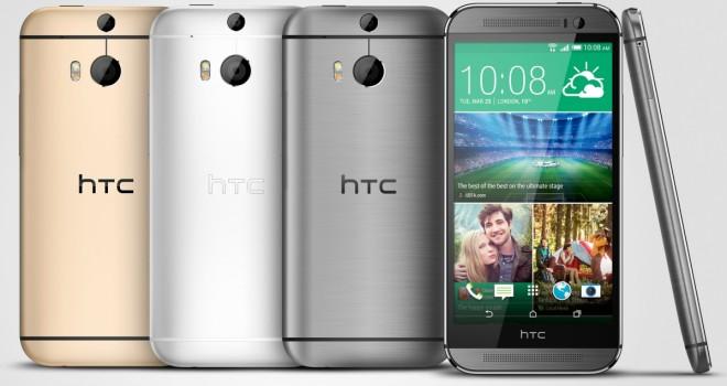 HTC One M8, vari colori