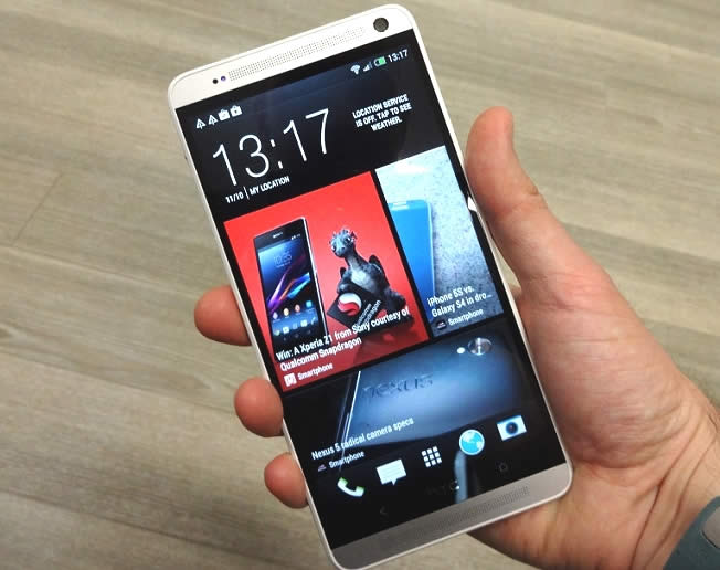 HTC One Max frontale