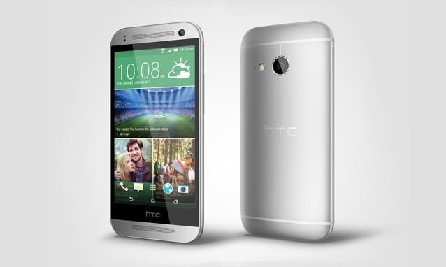 HTC One Mini 2 di colore grigio