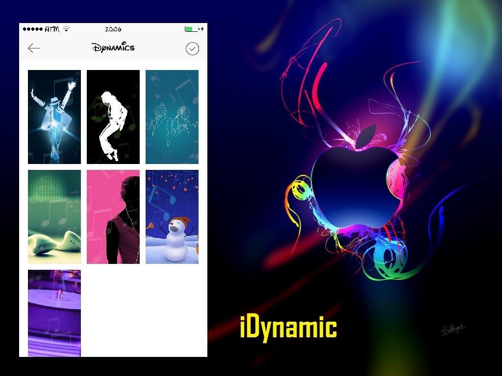 IDynamic schermata selezione