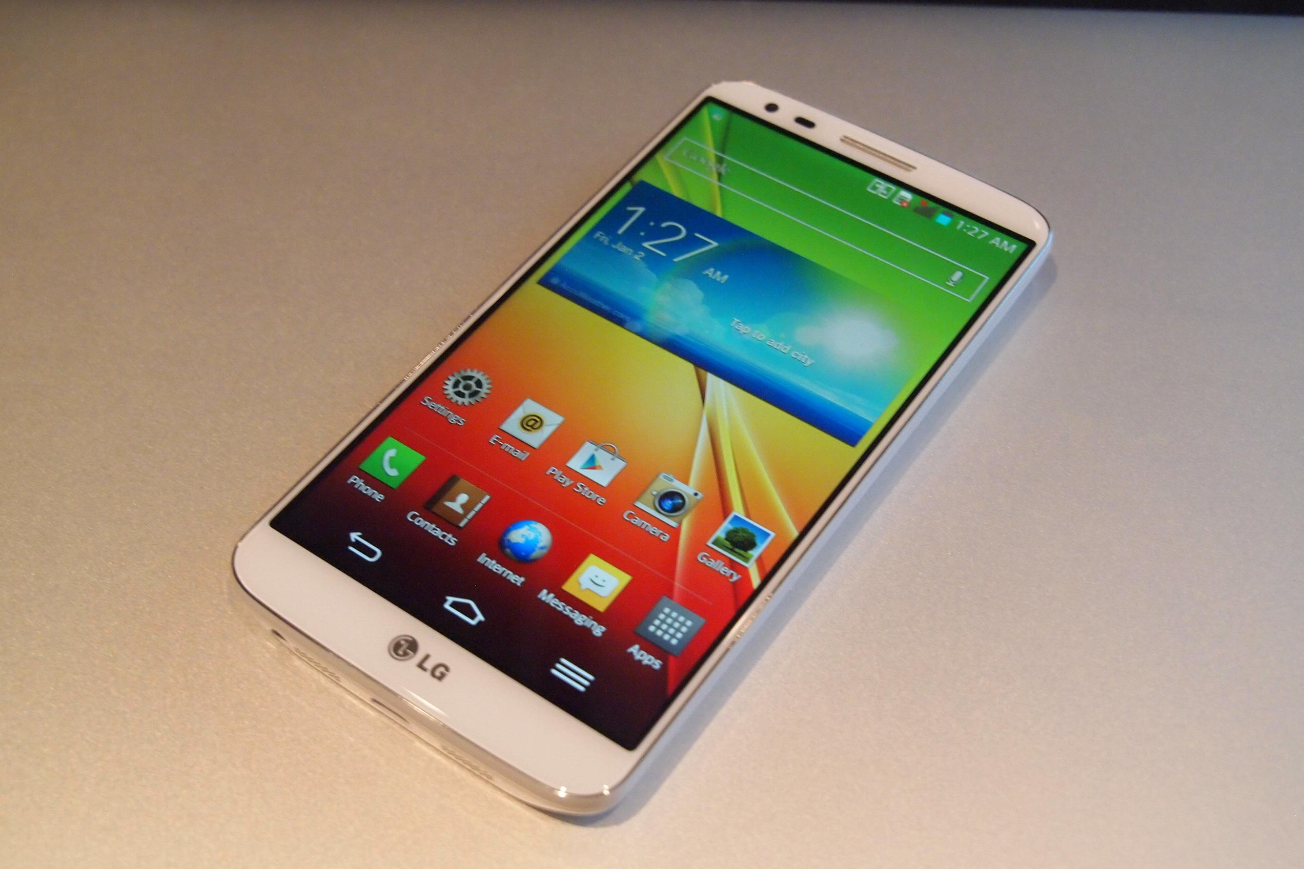 LG G2 schermata homescreen
