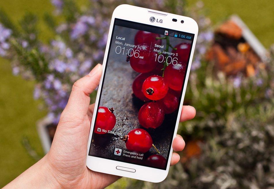 LG L90 schermata ciliege