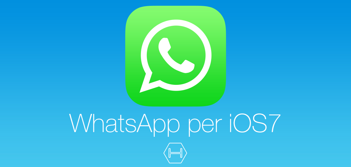 Logo Whatsapp iOS 7