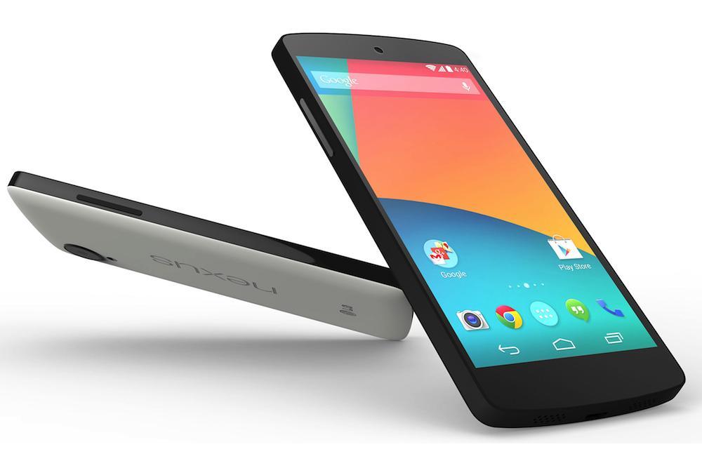 Nexus 5 bianco e nero