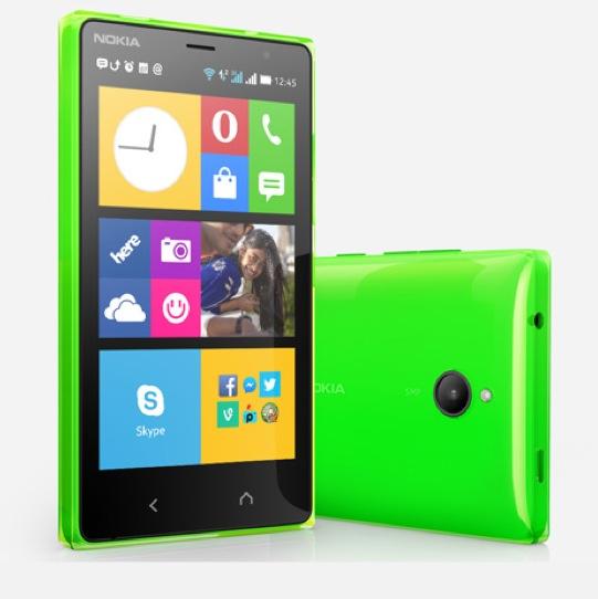 Nokia X2 Verde