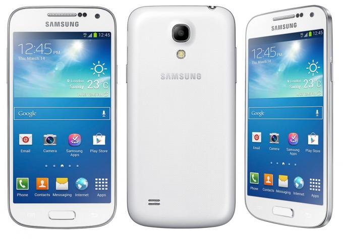 Samsung Galaxy S4 Mini vari profili