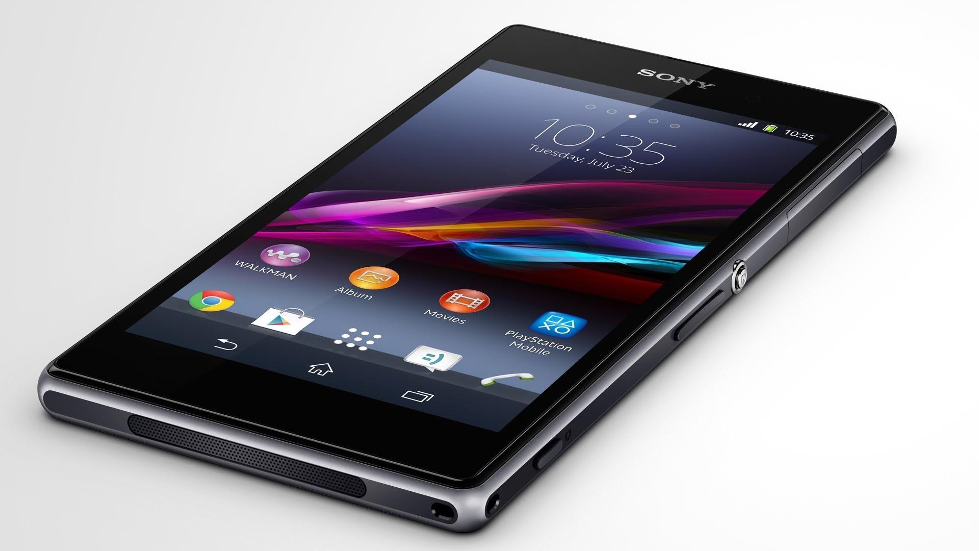 Sony Xperia Z1 homescreen