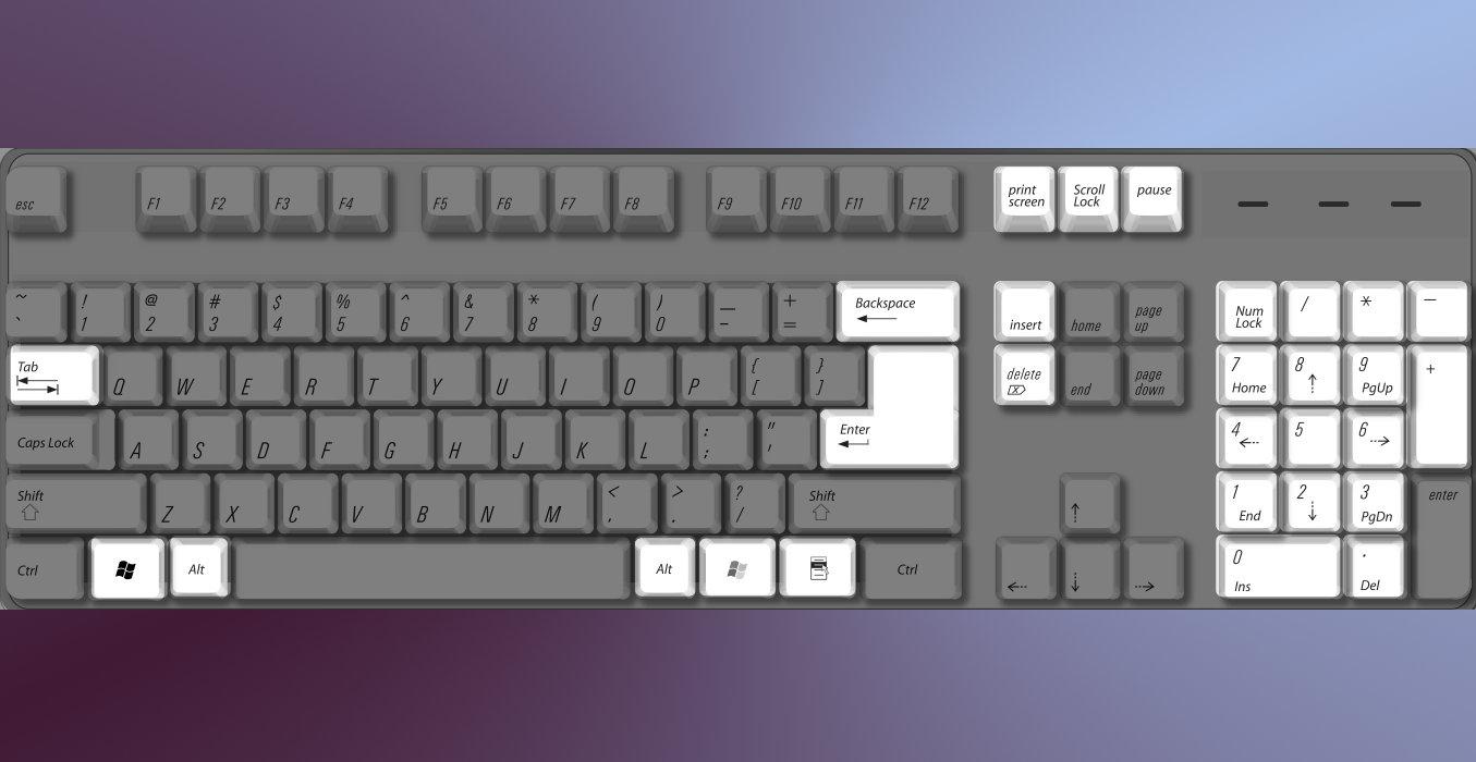 Tasiera Windows 8