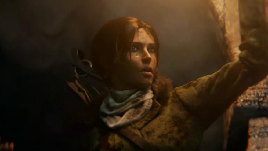 The Rise of Tomb Raider Lara Croft
