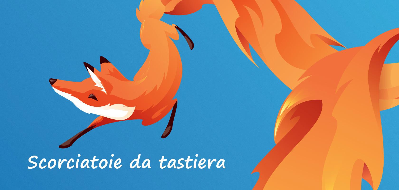 Volpe Firefox con scritta
