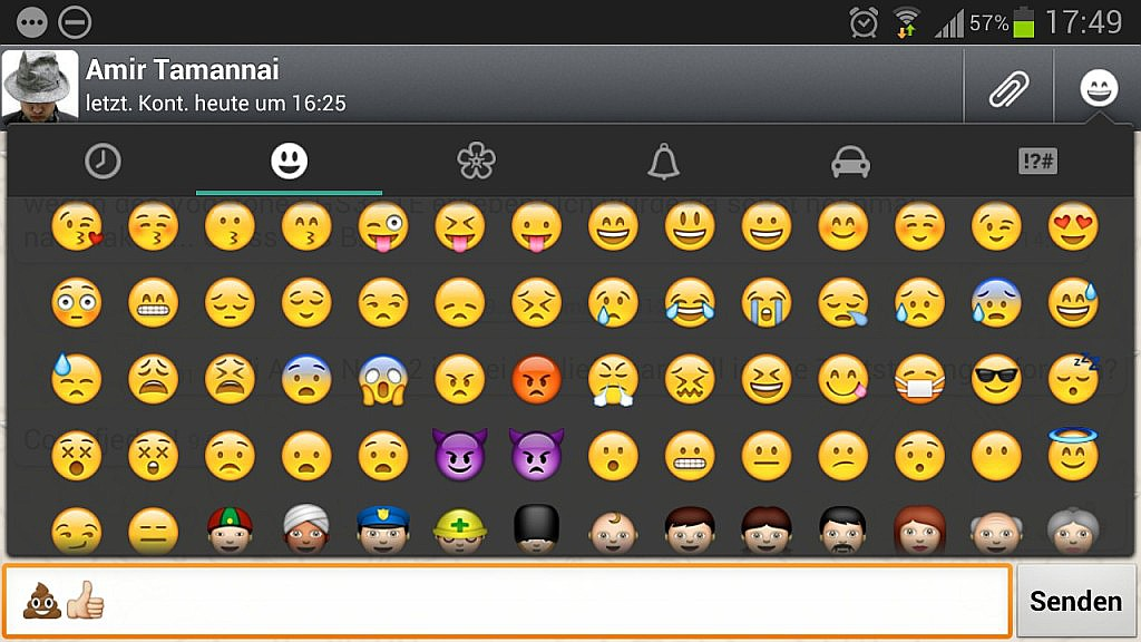 Whatsapp emoticon Android