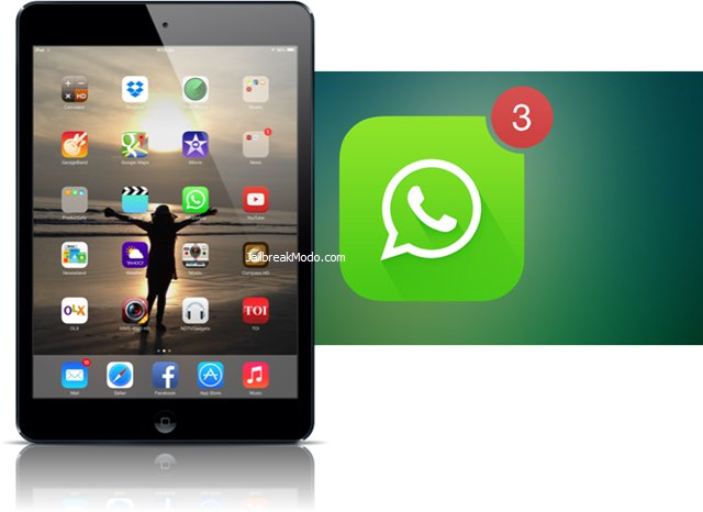 Whatsapp iOS 7 su iPad