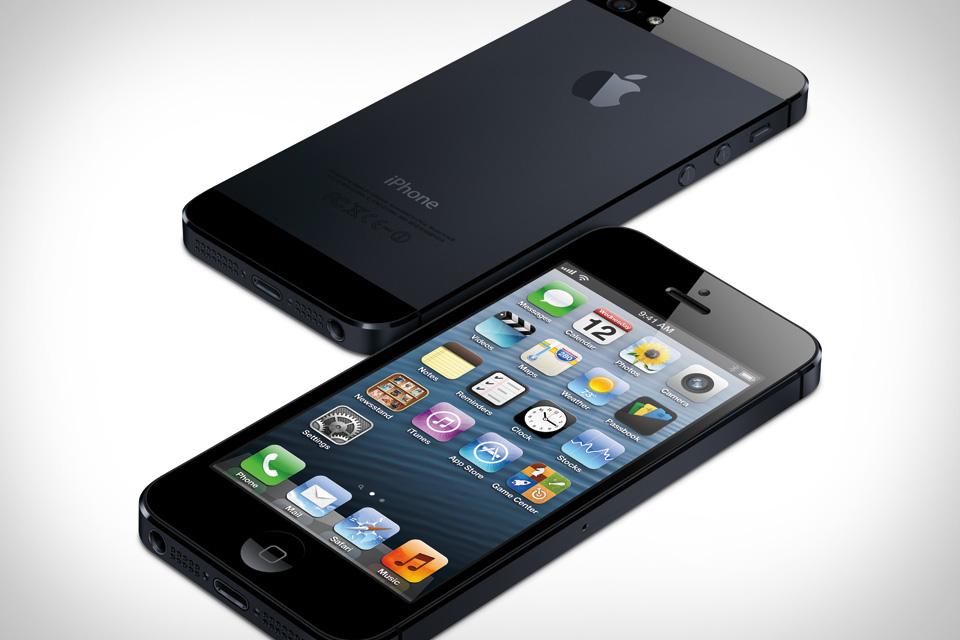 iPhone 5 avanti e dietro