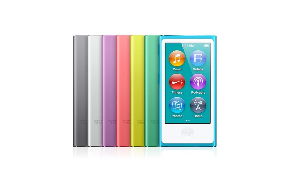 iPod Nano colori scocca