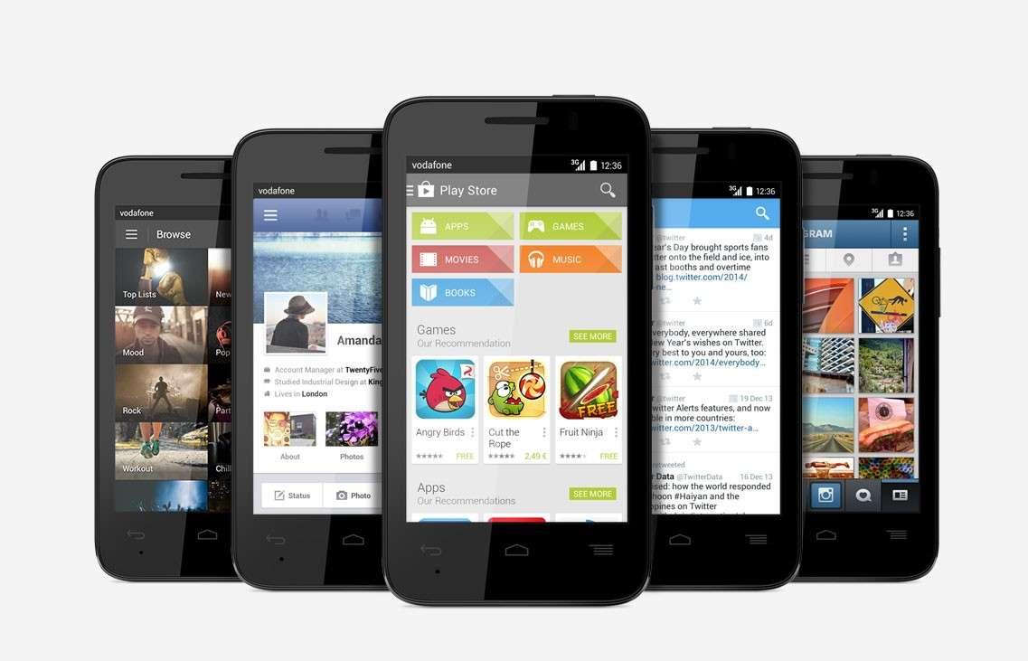 Vodafone Smart: prezzo e scheda dell'Android da 69€