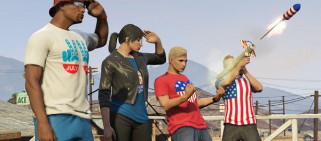 GTA 5 Online Indipendece Day
