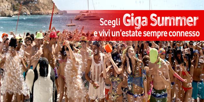 Giga Summer Vodafone