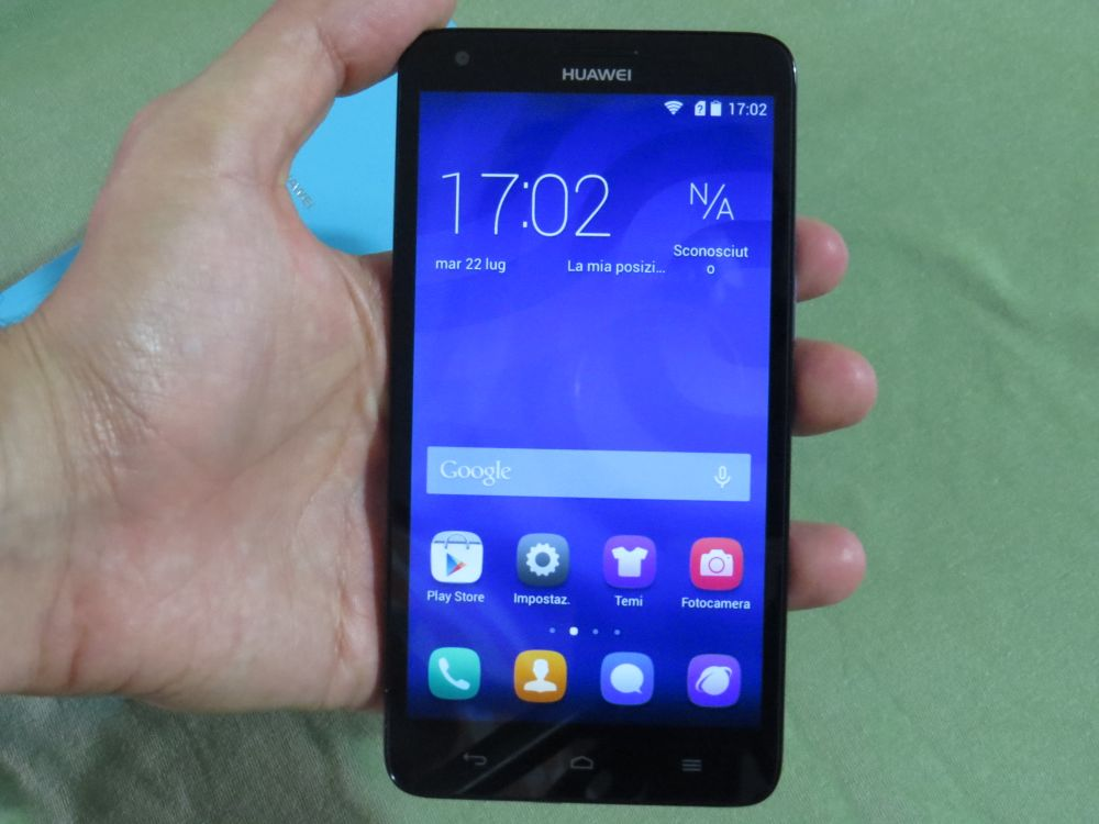 Huawei Ascend G750 hands on