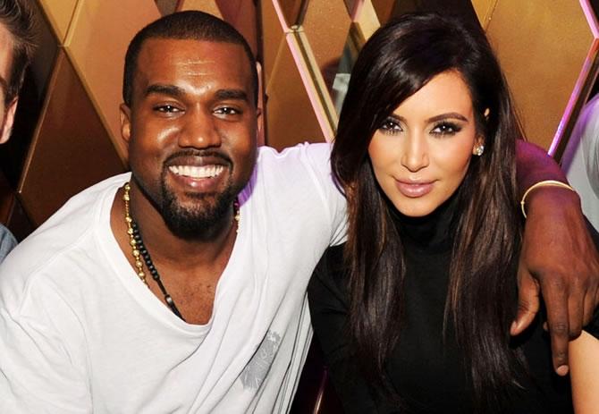 Kim Kardashian con Kanye West