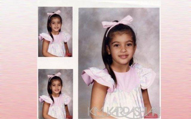 Kim Kardashian da bambina