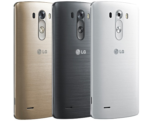 LG G3 colorazioni e design