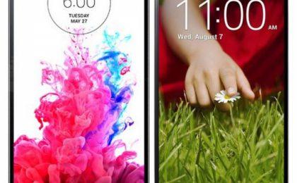 LG G3 vs LG G2: confronto scontro tra i due smartphone