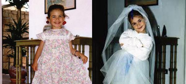 Melissa Satta da bambina