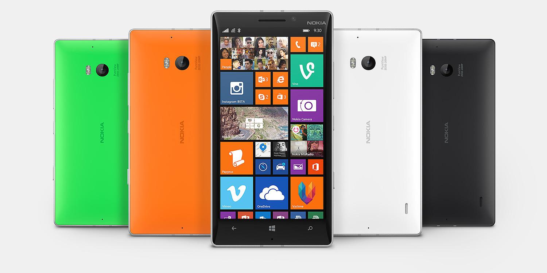 Nokia Lumia navigatori