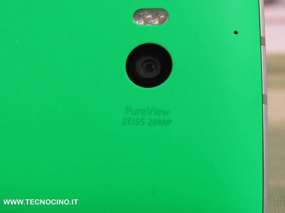 Sensore PureView da 20 megapixel