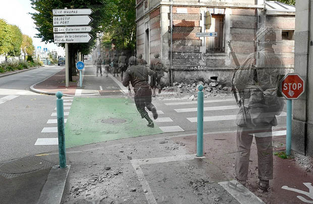 Soldati seconda guerra mondiale prima e dopo