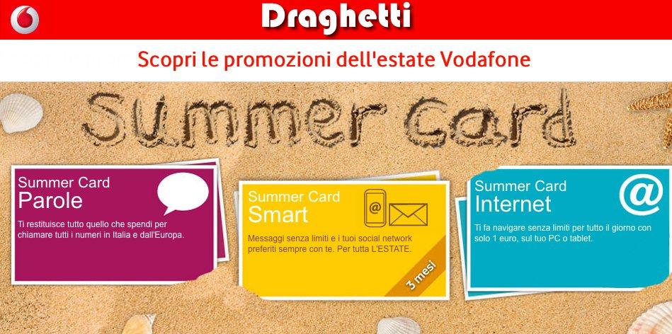 Summer card Vodafone