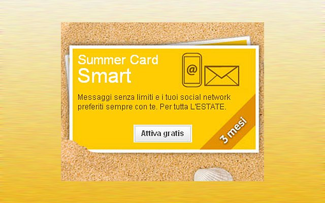 Vodafone Summer Card Smart