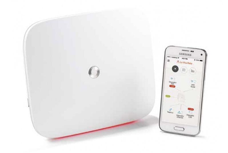 Vodafone password WiFi modem router