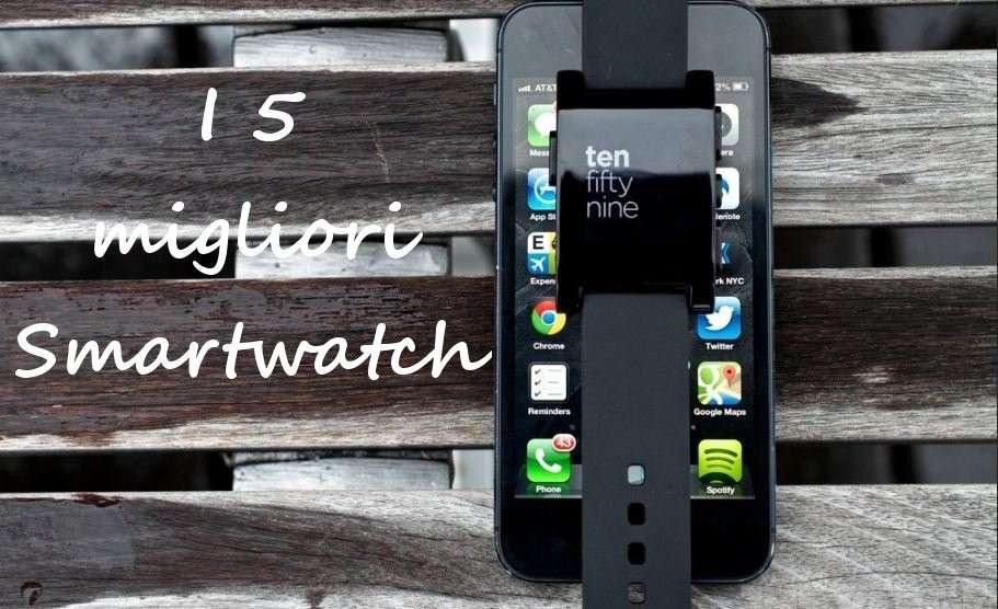 I 5 migliori smartwatch in commercio [FOTO]