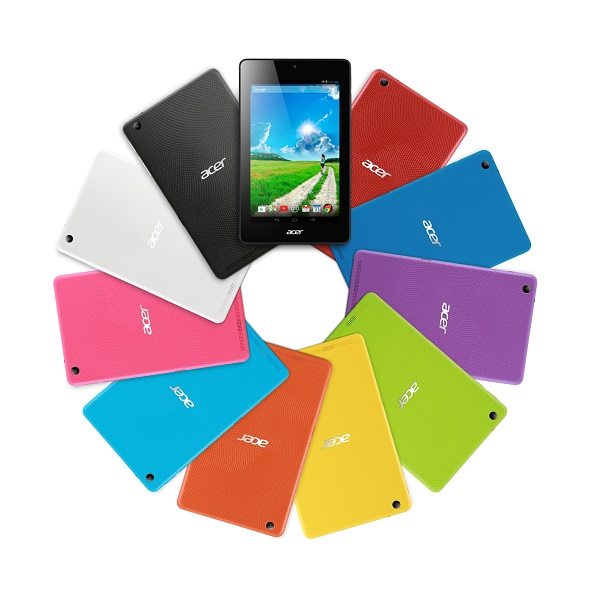 Acer Iconia One 7 colori