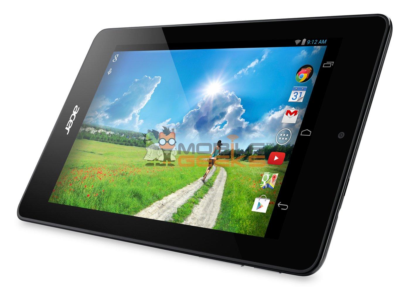 Acer Iconia One 7 schermo